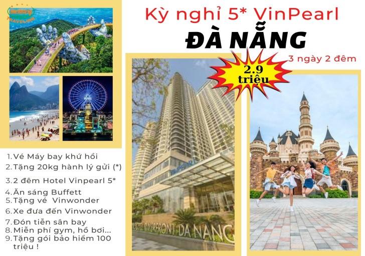Kỳ nghỉ 5* Vinpearl Đà Nẵng